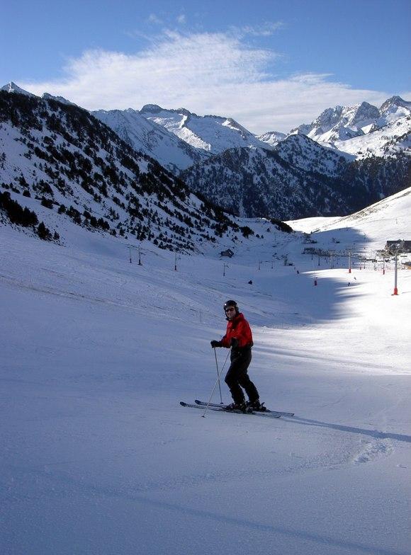 Saint Lary Soulan snow
