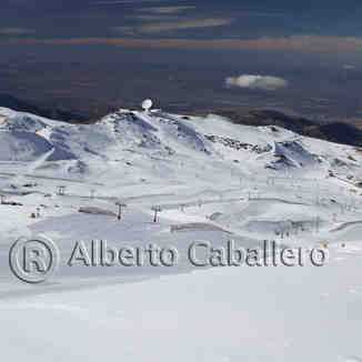 Panorama de Borreguiles, Sierra Nevada