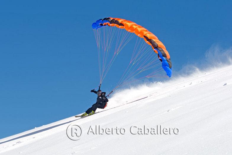 Spedd riding, Sierra Nevada