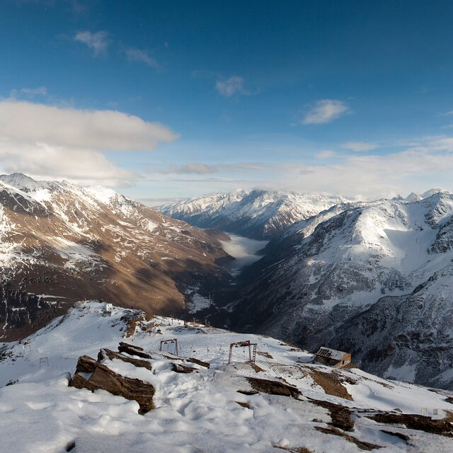 View from Mount Cheget