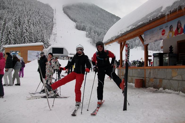 bansko plato ski area
