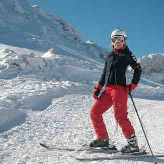 ski route fterolaka, Mt Parnassos-Kelaria