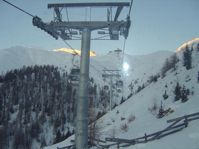 Giggijoch early morning lift - Solden, Sölden