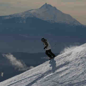 Texas Ridge bowl, Mt Hood Meadows
