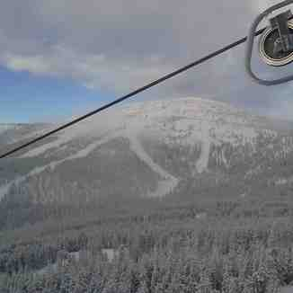 Shot of big hill, Mt Baldy Ski Area