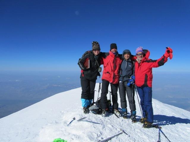 Mount Ararat summit, 5137m, Ağrı Dağı or Mount Ararat