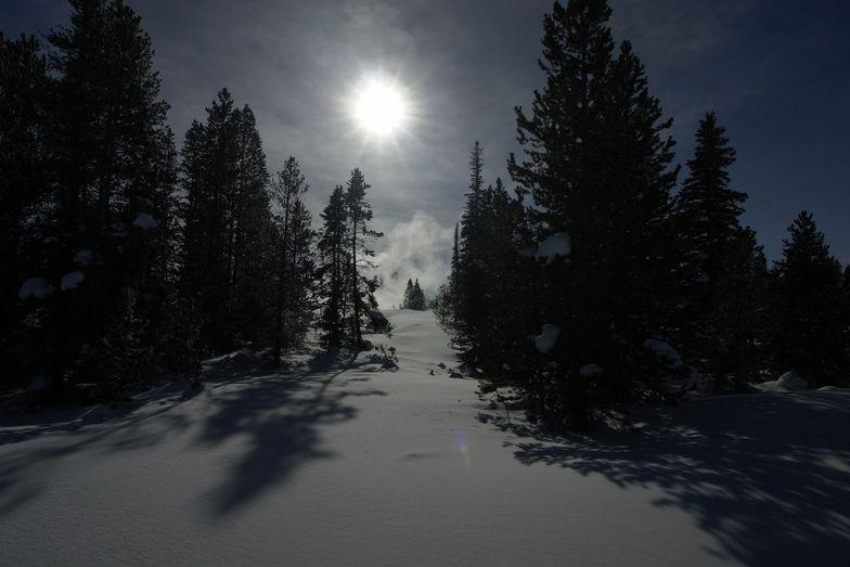 Teton Outlook, Teton Pass Ski Area