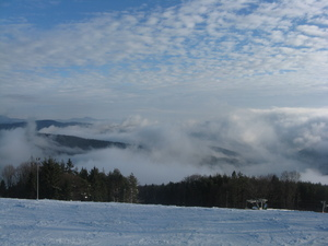 Between the clouds, Jaworzyna Krynicka photo
