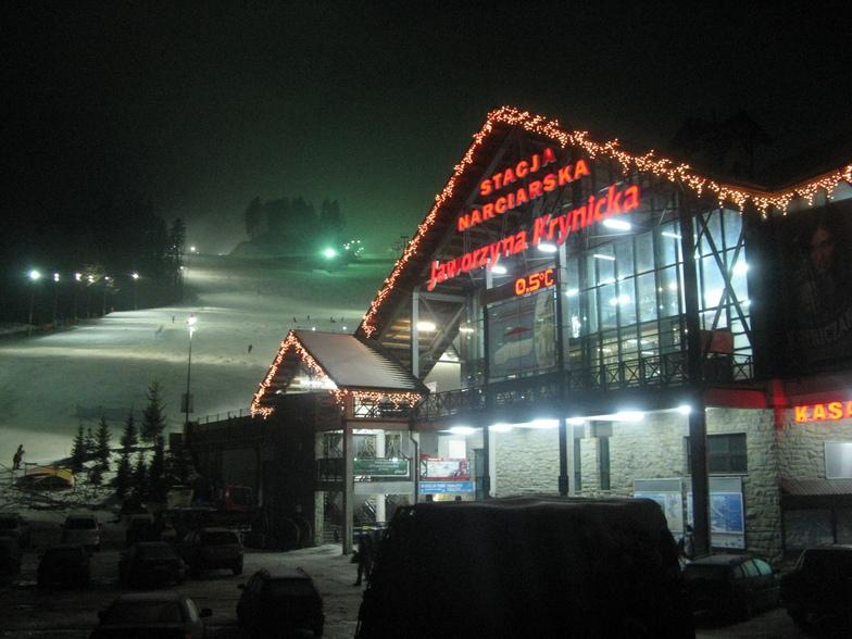 Jaworzyna Krynicka snow