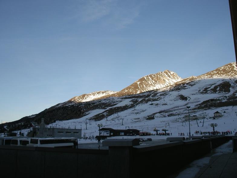 Centre of Passo Tonale