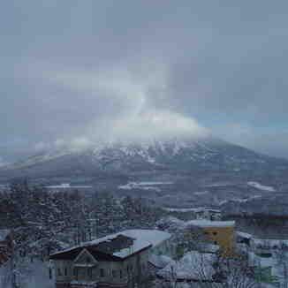 Sunrise over Mt Yotei, Hokkaido, Niseko Grand Hirafu
