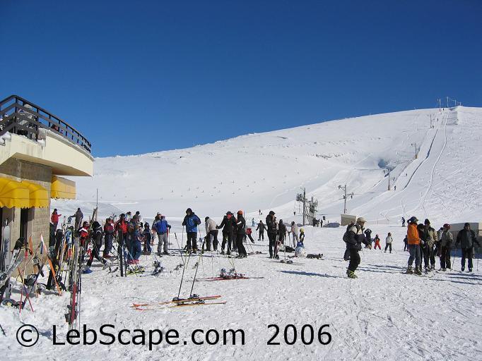 Faraya,LEBANON, Mzaar Ski Resort