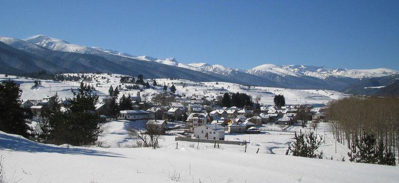 Village near Borovets Bulgaria