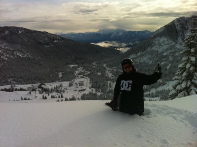 Sasquatch Mountain Resort snow
