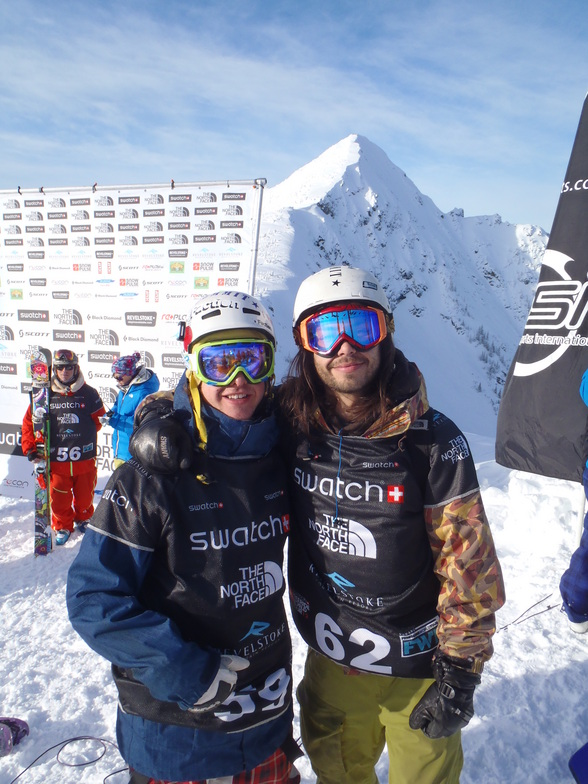 Freeskiing World Competitors + MAC DADDY, Revelstoke Mountain Resort