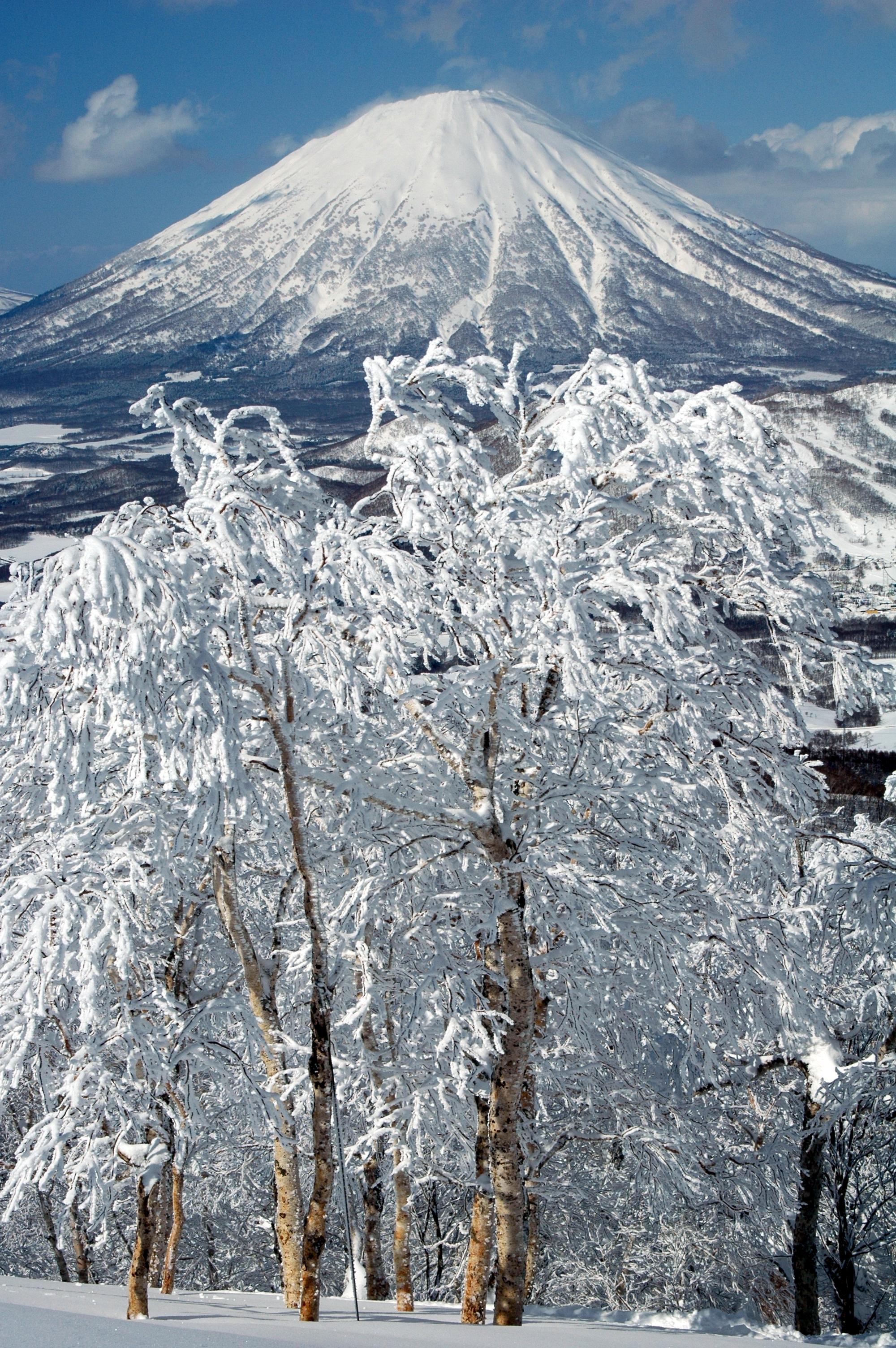 Mt Yotei from Rusutsu, Rusutsu Resort