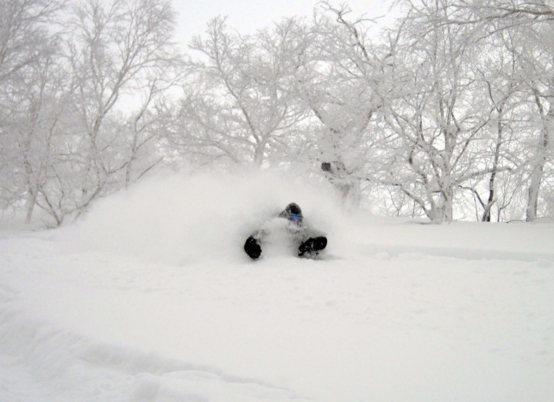Asahidake snow