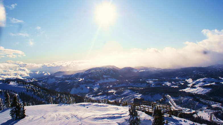 Unreal way to start off the day, Mount Washington