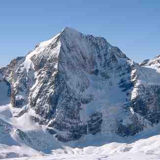 Königspitze / Gran Zebrù 3851m, view from Schöntaufspitze 3324, Sulden