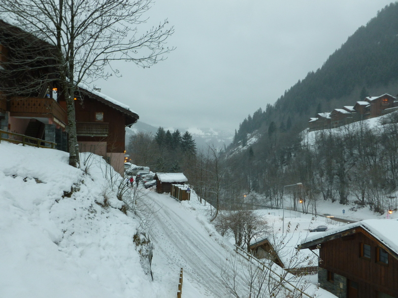 View of Courchevel, Champagny