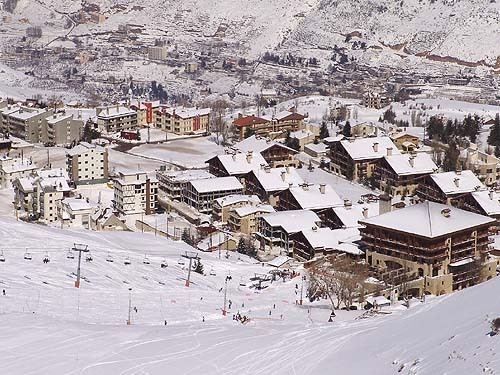 faraya resort,lebanon, Mzaar Ski Resort