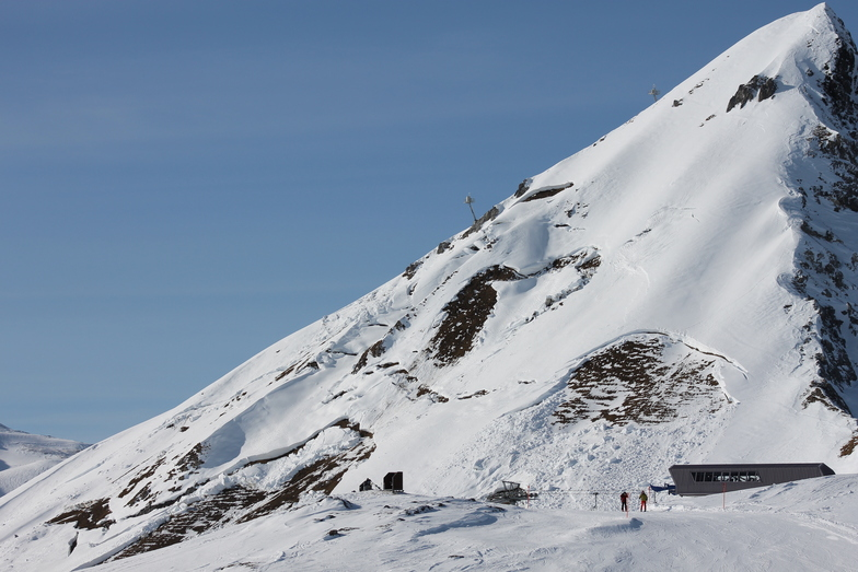 Avalanches on Gotchna, Davos