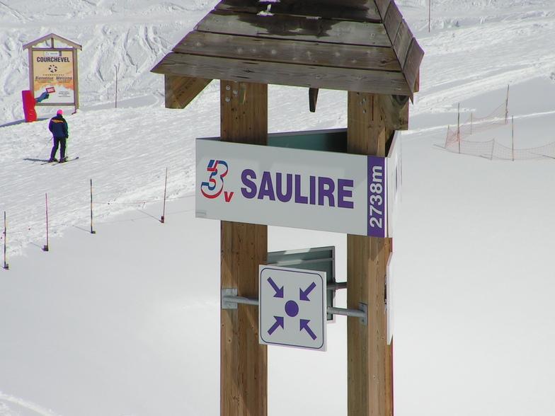 Saulire, Courchevel