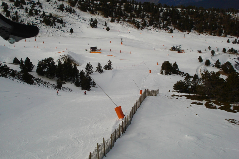 Vista Snowpark Port-Ainé desde L'Olla