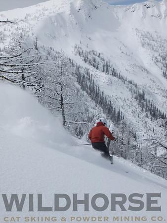 Mustang Face, Ymir Backcountry Ski Lodge