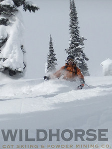 Everyday Powder, Ymir Backcountry Ski Lodge photo