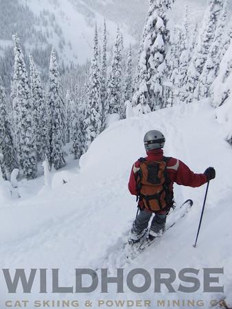 Long Baldy, Ymir Backcountry Ski Lodge