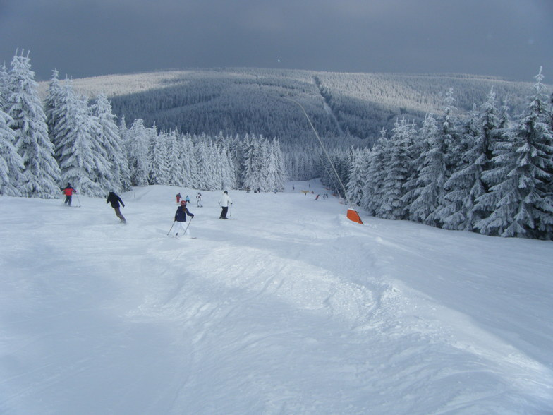 Over the back of the hill, Oberwiesenthal