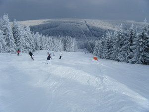 Over the back of the hill, Oberwiesenthal photo