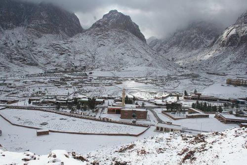 Jabal Katherina Ski Resort by: Michael Talaat Ibrahim