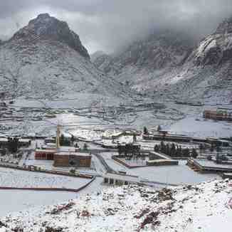 St Chatherine Sinai Egypt Snow 20-1-2012, Jabal Katherina