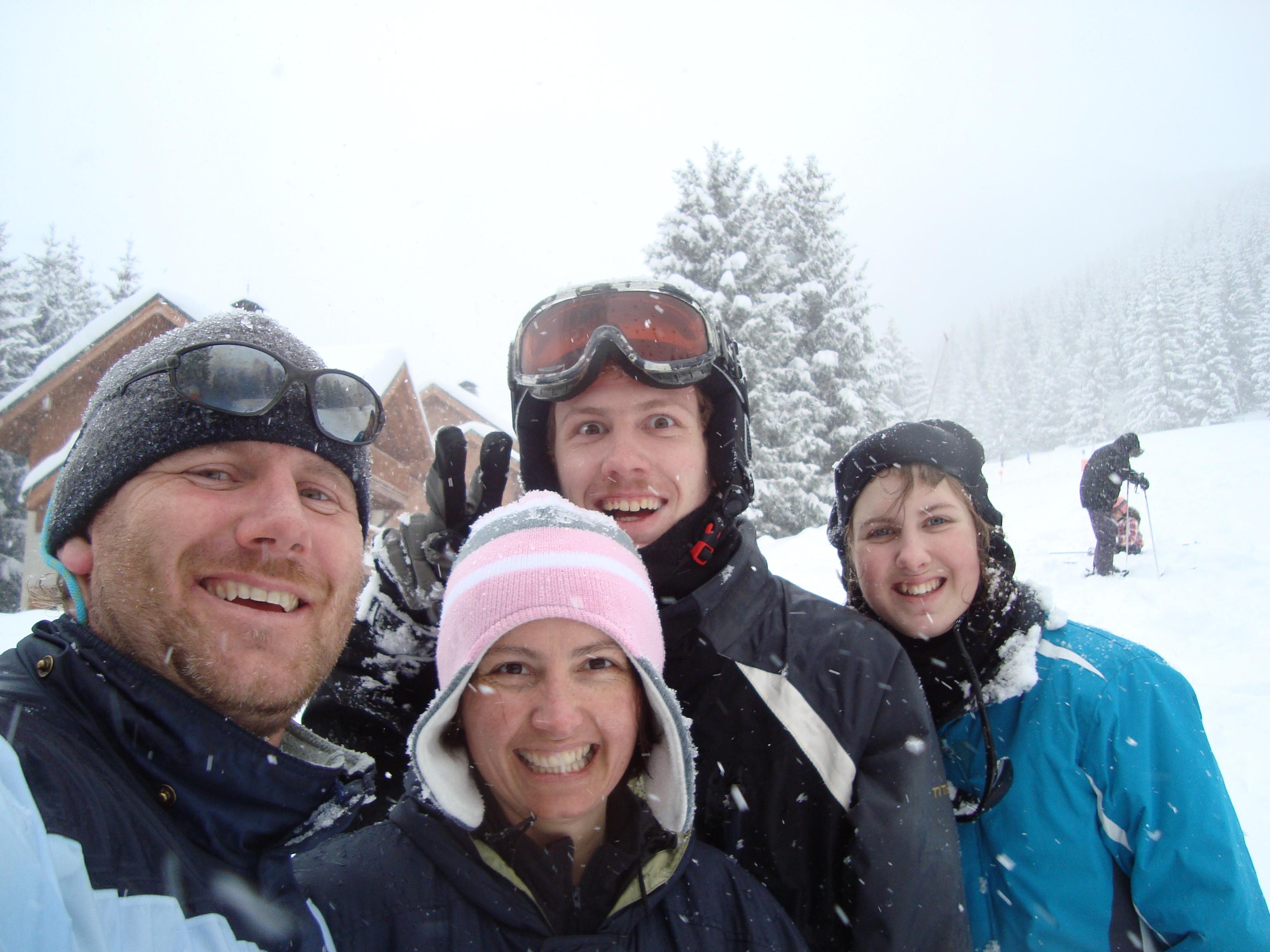 Skiing from Apartment Sarenne, Oz en Oisans