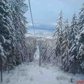 View from Gondola, Bansko