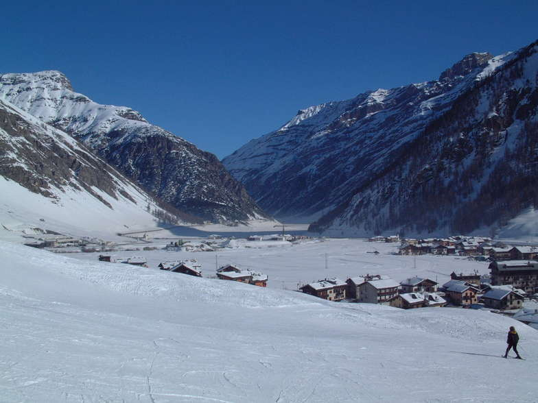 Towards Switzerland, Livigno