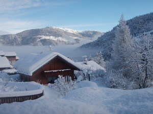 After the snow stopped, Méribel photo