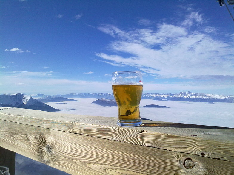 Tasted as good as it looked, Chamrousse