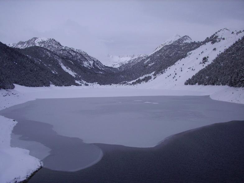 Lac pistes, Saint Lary Soulan