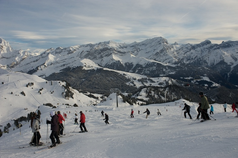 Villars-View from the top.