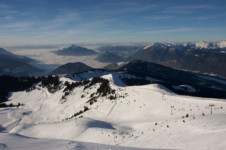 Winter View, Samoens