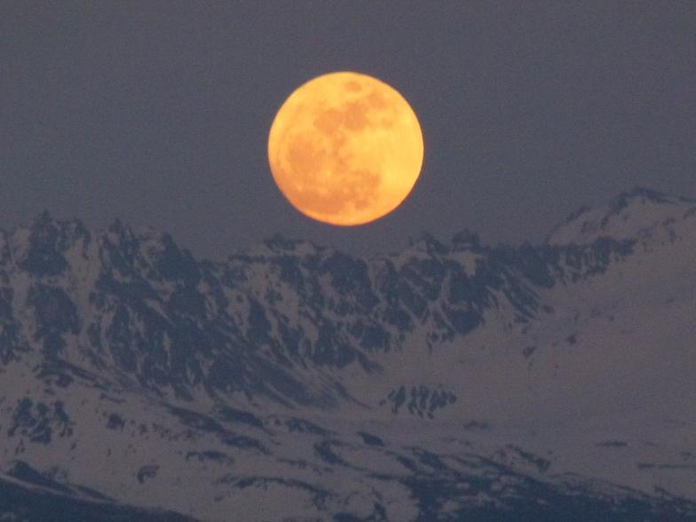 Levé de la Lune