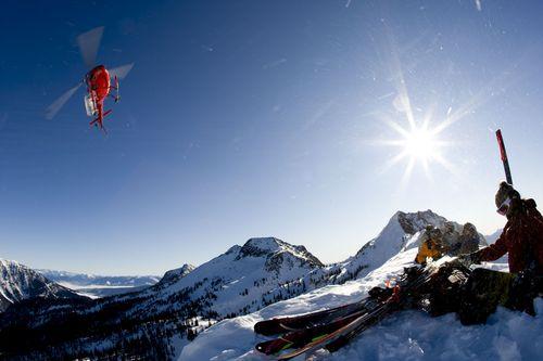 Snowwater Lodge Ski Resort by: Maria Grant