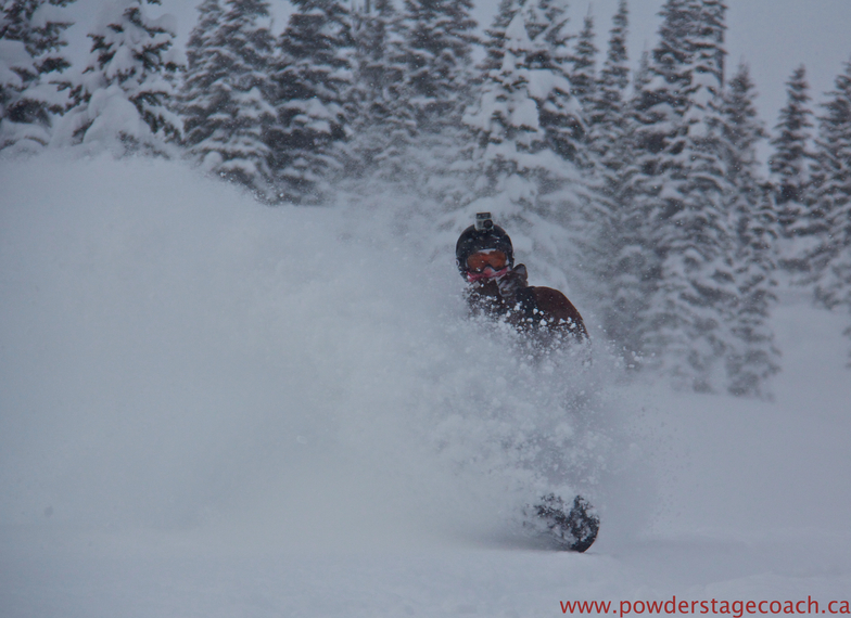 Ripping a Line, Castle Mountain Resort