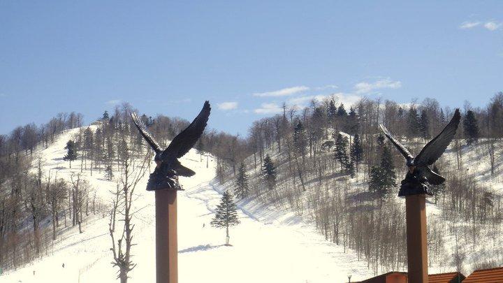 Geyikalanı behind of the  iron eagles, Kartepe