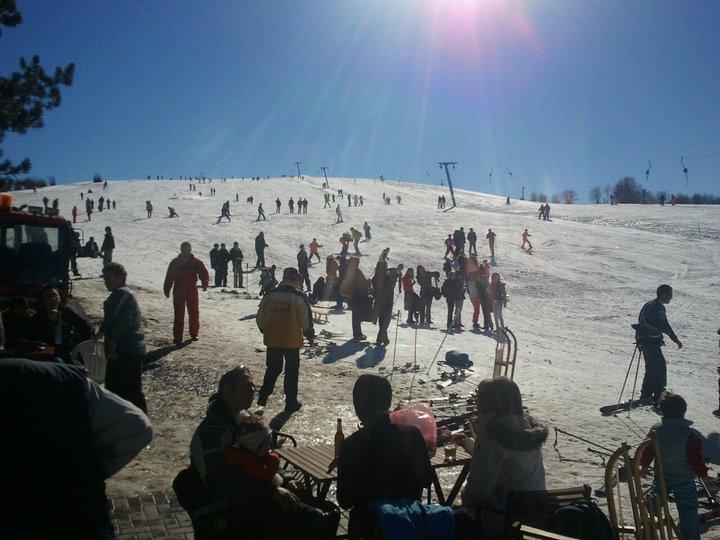 Beginners' piste, Krushevo