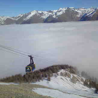 une mer (de nuage) a la montagne, Auron