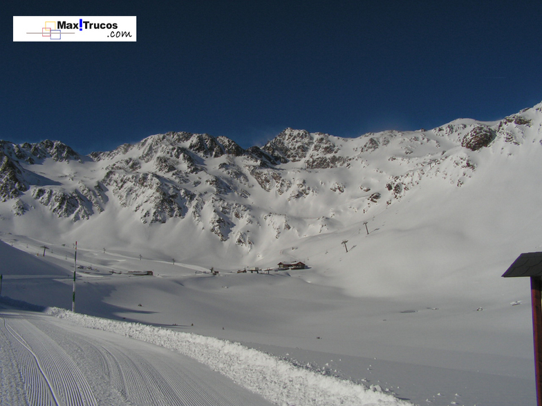 Vallnord-Arcalís snow